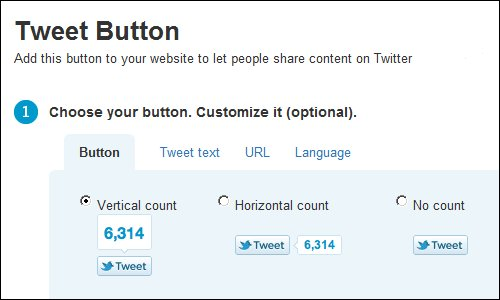 Twitter Tip Tuesday - Twitter Tweet Button