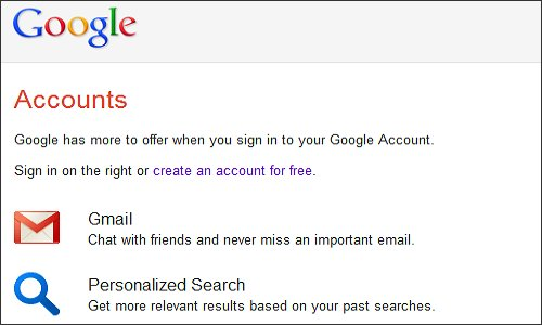 Set up Your Google Account