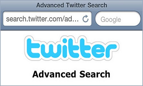 6 Twitter Tools for Local Business - Twitter Advanced Search