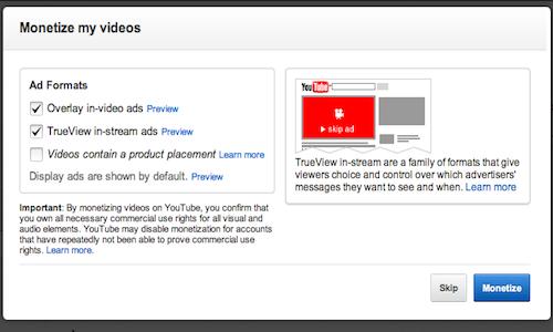 Click Here for Monetizing YouTube - Making Money Uploading Videos