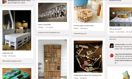 Why west elm sets a standard for pinterest presence sprout social Diy home decor crafts pinterest