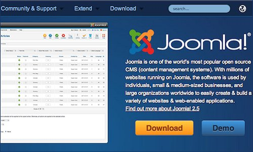Pros of Joomla
