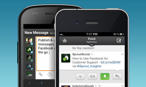 Sprout Social Mobile Apps